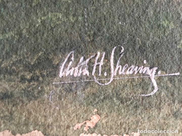 Arte: Atenas. Magnífica acuarela original. Firmada, medidas aprox 50 x 50 cmts. - Foto 2 - 234752015
