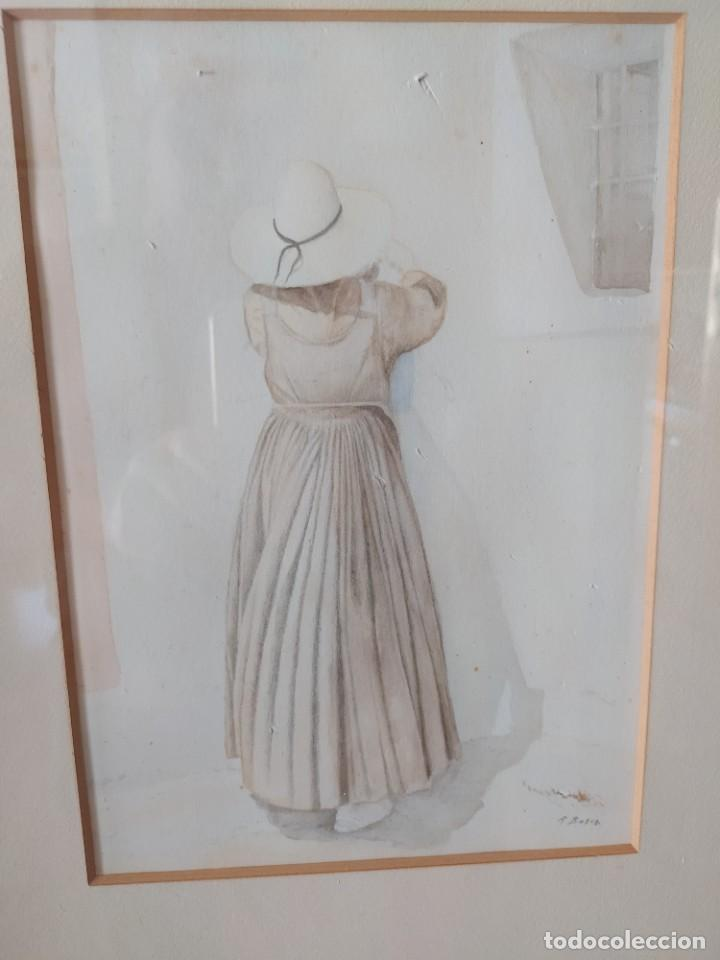 Arte: ACUARELA RAMON MIRALLES BOSCA (1940) - Foto 2 - 234903050
