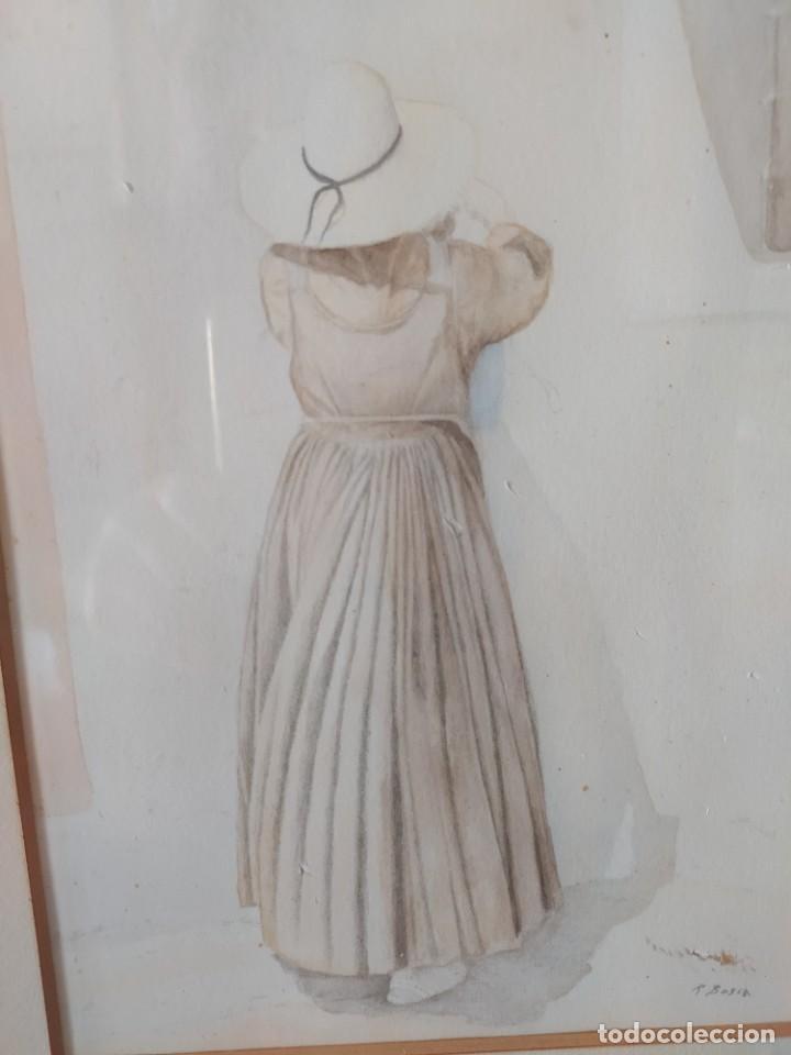 Arte: ACUARELA RAMON MIRALLES BOSCA (1940) - Foto 3 - 234903050