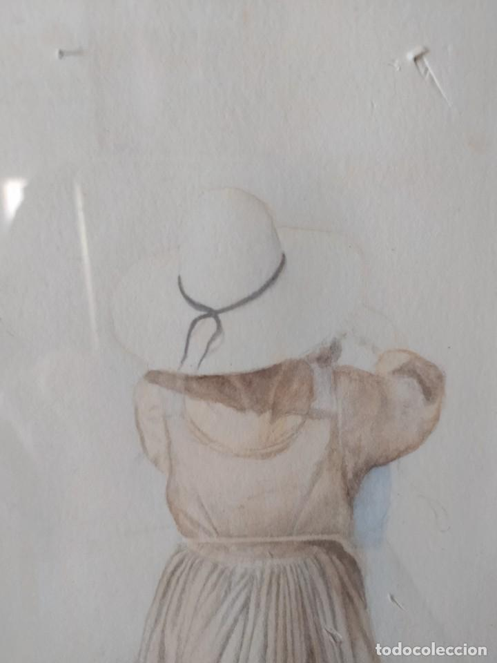 Arte: ACUARELA RAMON MIRALLES BOSCA (1940) - Foto 4 - 234903050