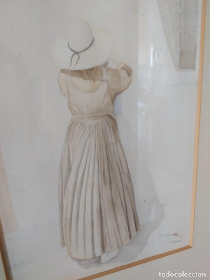 Arte: ACUARELA RAMON MIRALLES BOSCA (1940) - Foto 16 - 234903050