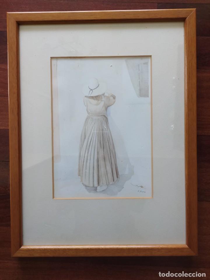 Arte: ACUARELA RAMON MIRALLES BOSCA (1940) - Foto 17 - 234903050