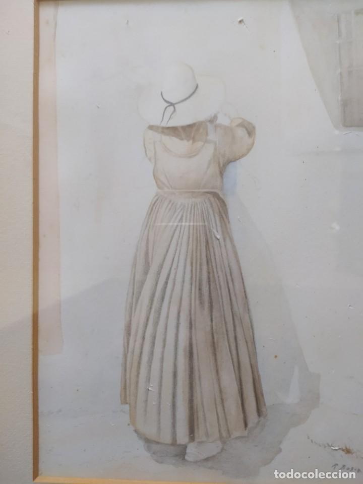 Arte: ACUARELA RAMON MIRALLES BOSCA (1940) - Foto 18 - 234903050