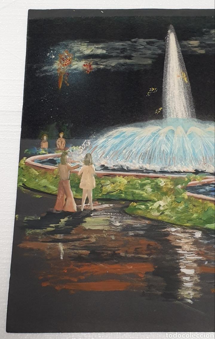 Arte: Acuarela Gutierrez Proyecto fuente luminosa 1973 - Foto 2 - 235182515