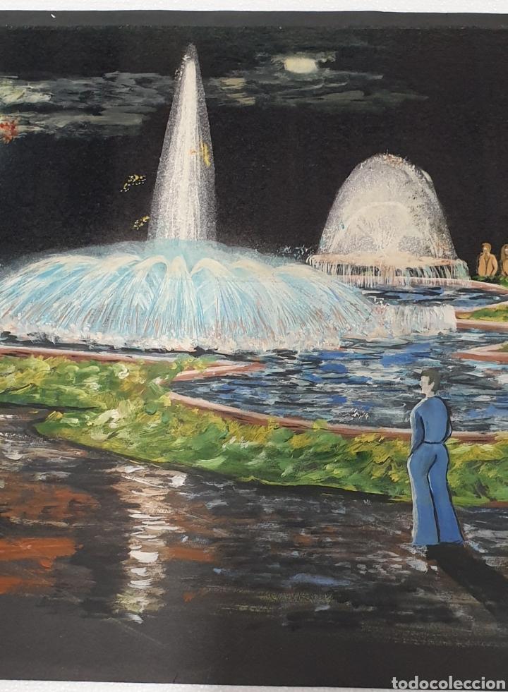 Arte: Acuarela Gutierrez Proyecto fuente luminosa 1973 - Foto 3 - 235182515