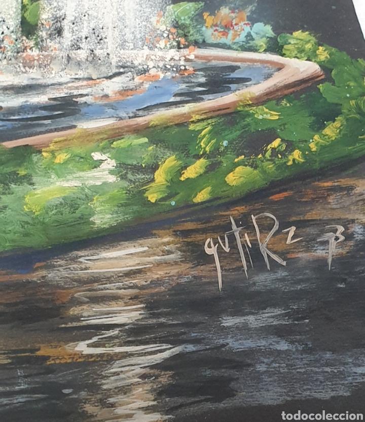 Arte: Acuarela Gutierrez Proyecto fuente luminosa 1973 - Foto 5 - 235182515