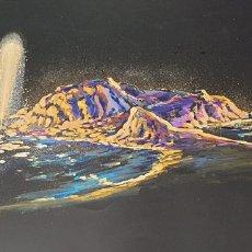 Arte: FUENTE LUMINOSA ACUARELA SOBRE CARTULINA SIGLO XX CONTEMPORÁNEO. Lote 235185920