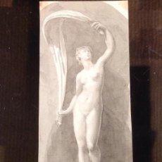 Arte: MIGUEL BLAY Y FABREGA ( 1866-1936). DOS PEQUEÑOS ESTUDIOS. ACUARELA. EN PERFECTO ESTADO. PPS. S.XX.. Lote 234630725