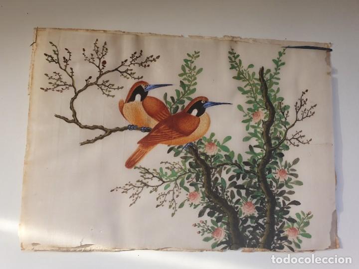 Arte: PINTURA CHINA PAPEL ARROZ - Foto 4 - 235540325