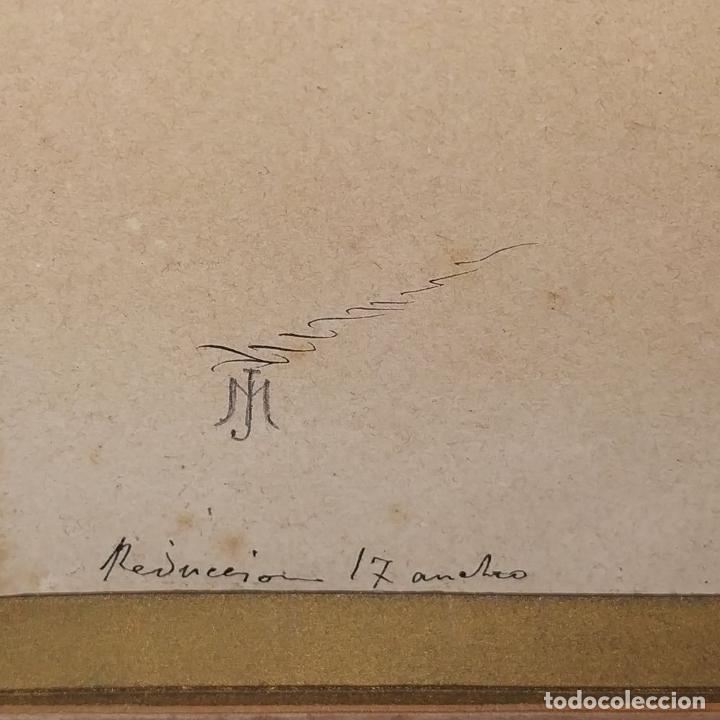Arte: FIESTAS DE BARCELONA. FIRMA DESCONOCIDA. ACUARELA SOBRE PAPEL. ESPAÑA. 1884 - Foto 23 - 235676785