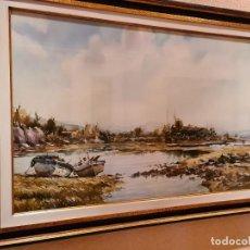 Arte: MARINA, VICTORIO MANCHÓN (MELILLA 1929-OVIEDO 1969). Lote 236559425