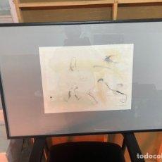 Arte: DIBUJO/ACUARELA FIRMADA POR LUCIA NAVALON. Lote 237091265