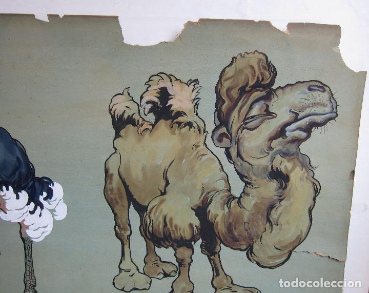 Arte: JOAN LLAVERIAS. CAP GEPERUT SE VEU EL GEP. HACIA 1905. GOUACHE. 51,5 X 66 CM - Foto 3 - 237665440