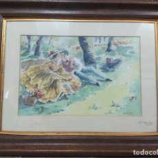 Arte: ACUARELA DE FORBETTA. Lote 239974945