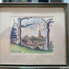 Arte: JOAN COMMELERAN CARRERA.FIRMADO.1951.. Lote 242973730