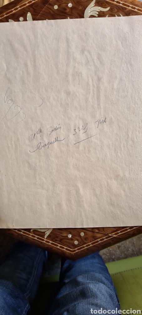 Arte: Acuarela firmada sin edintificar 1950 - Foto 3 - 243412380
