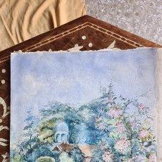 Arte: ACARUELA MUY BONITA 1905 FECHADA Y FIRMADA. Lote 243414110
