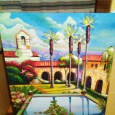 Arte: PRECIOSO CUADRO DE LIENZO -120 X 100 CM. Lote 243898900