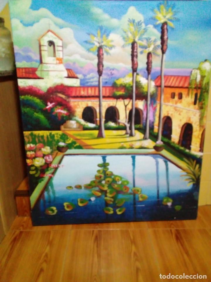 Arte: precioso cuadro de lienzo -120 x 100 cm - Foto 2 - 243898900