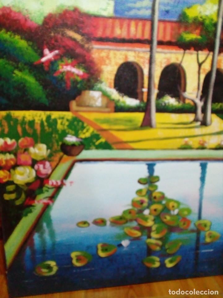 Arte: precioso cuadro de lienzo -120 x 100 cm - Foto 3 - 243898900