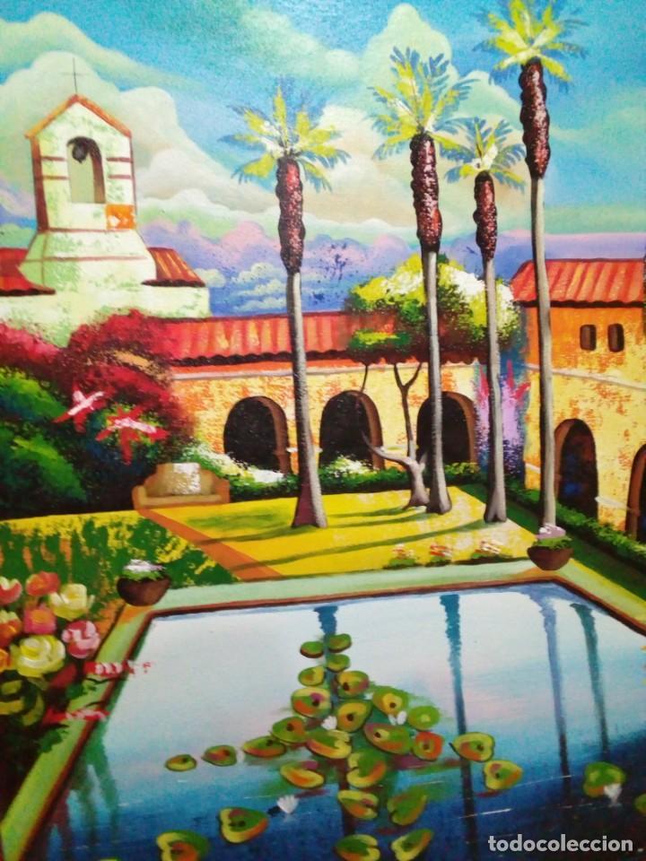 Arte: precioso cuadro de lienzo -120 x 100 cm - Foto 4 - 243898900