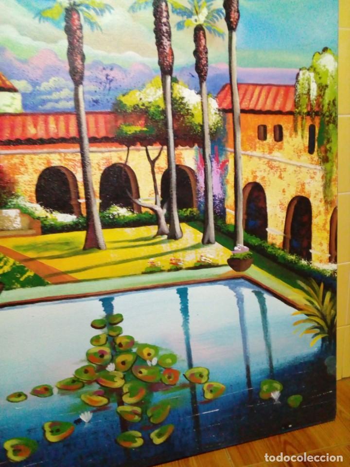 Arte: precioso cuadro de lienzo -120 x 100 cm - Foto 6 - 243898900