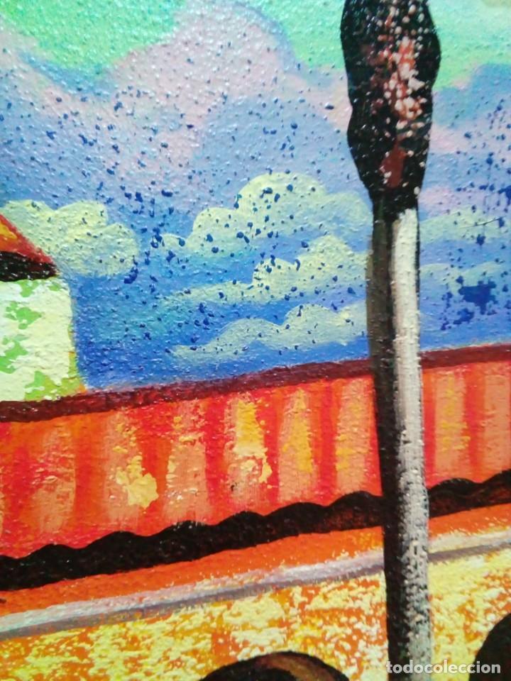 Arte: precioso cuadro de lienzo -120 x 100 cm - Foto 9 - 243898900