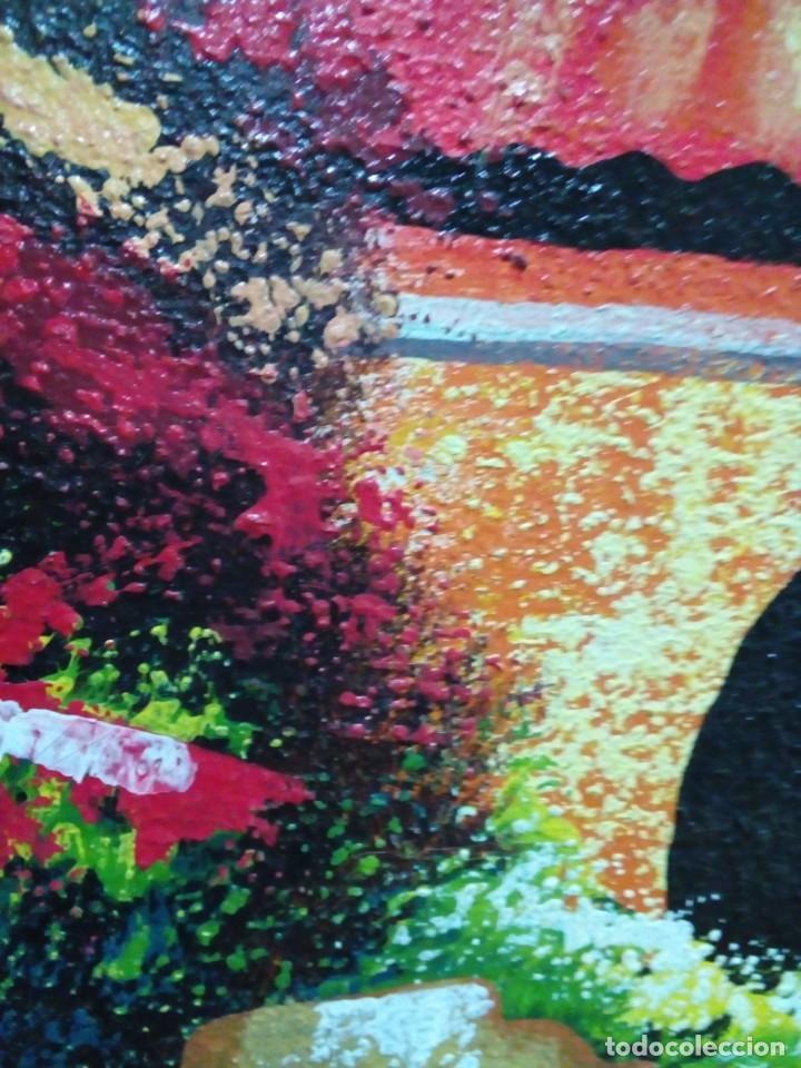 Arte: precioso cuadro de lienzo -120 x 100 cm - Foto 10 - 243898900