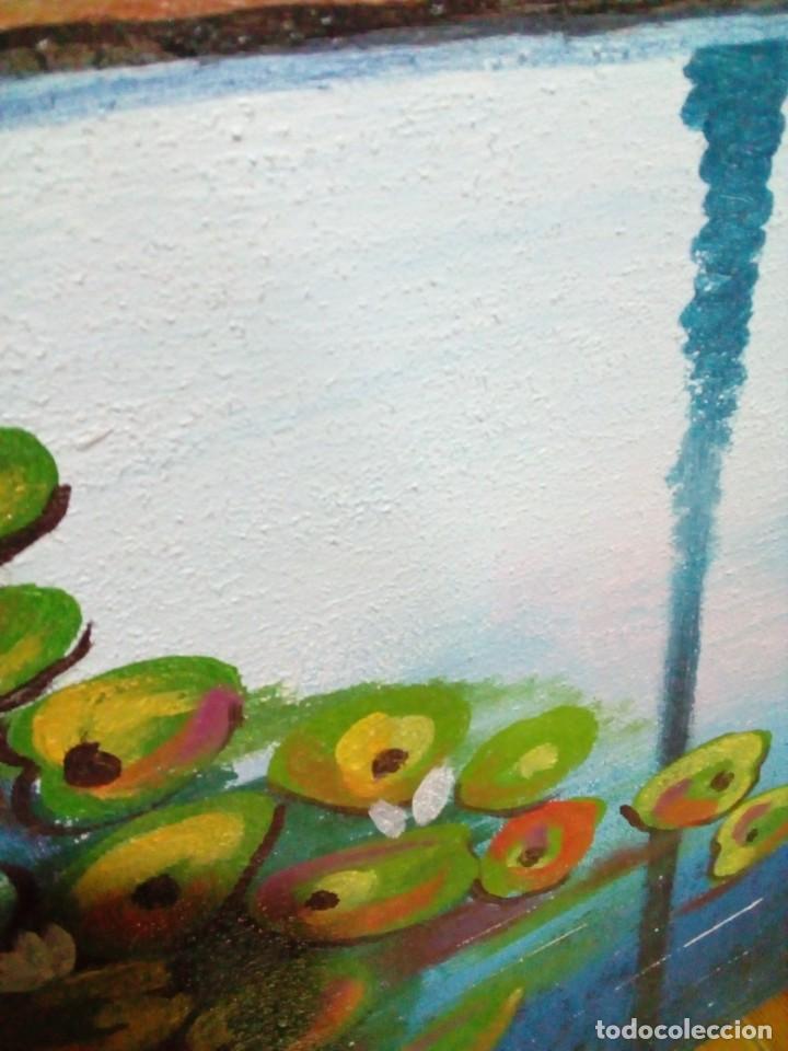 Arte: precioso cuadro de lienzo -120 x 100 cm - Foto 11 - 243898900