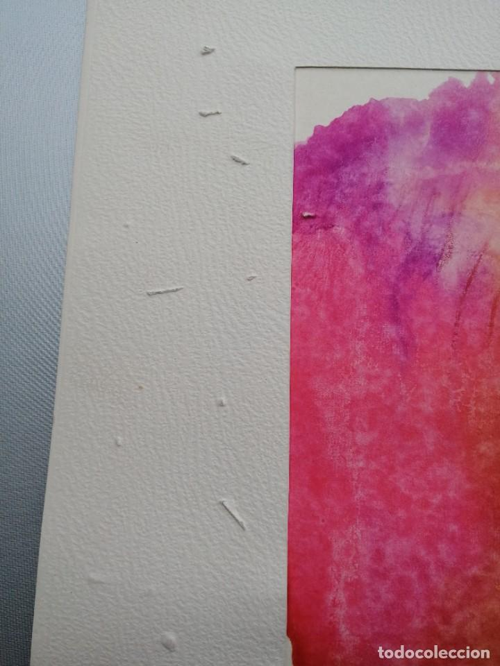 Arte: Abstracto. Acuarela firmada Aunion 73 - Foto 4 - 244017675