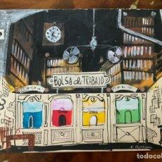 Art: ACUARELA DEL PINTOR S.BURMANN. Lote 244020745