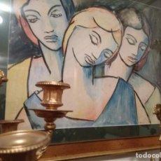 Arte: ACUARELA ORIGINAL DE MANUEL COLMEIRO(1901-1999) GALICIA. Lote 244434880