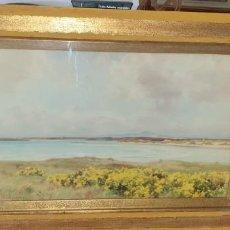 Arte: PRECIOSA ACUARELA ESCUELA INGLESA FIRMADA CON MUCHA CALIDAD AÑO 1910. Lote 244655750