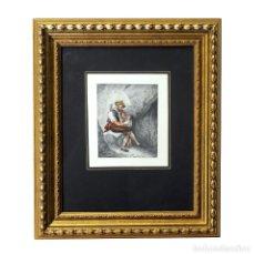 Arte: VALERIANO DOMÍNGUEZ BÉCQUER. (1833-1870). ACUARELA SOBRE CARTONCILLO.. Lote 243947935