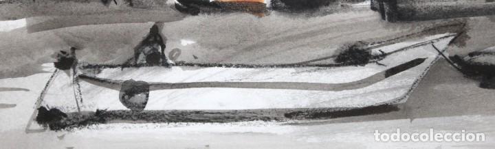 Arte: RAFAEL GRIERA CALDERON (1934 - 2018) TECNICA MIXTA. AMSTERDAM. 35 X 50 CM. - Foto 6 - 244811745