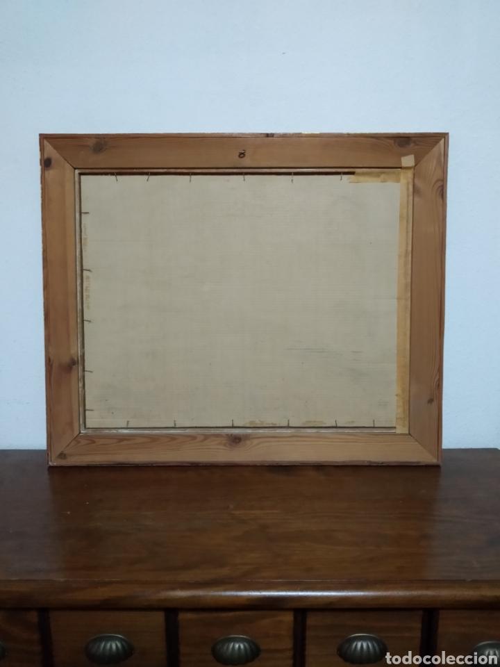 Arte: Antigua pintura principios siglo XX ,papel y acuarela paisaje y pueblo ,firmado ángulo inferior - Foto 9 - 245030290