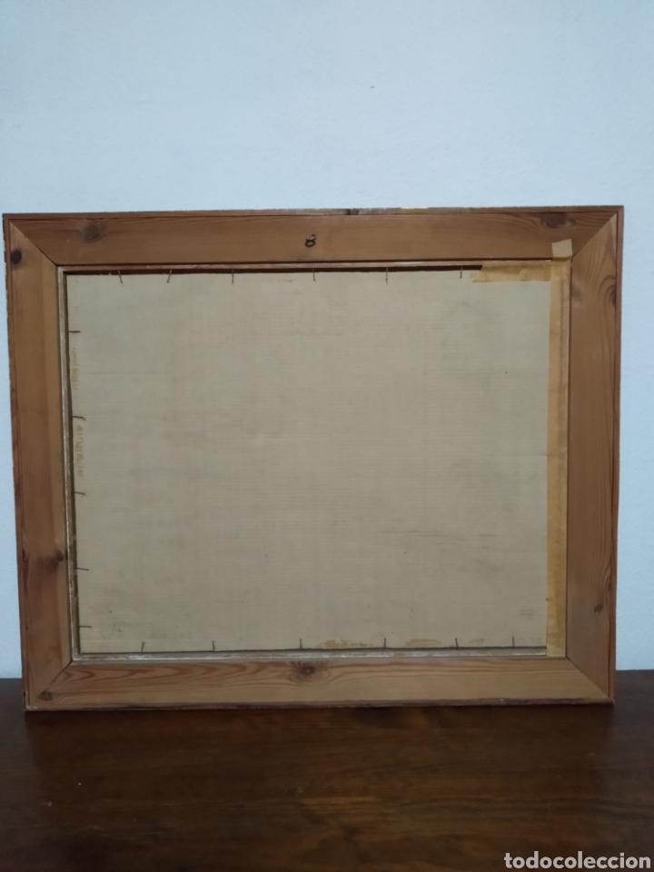 Arte: Antigua pintura principios siglo XX ,papel y acuarela paisaje y pueblo ,firmado ángulo inferior - Foto 10 - 245030290