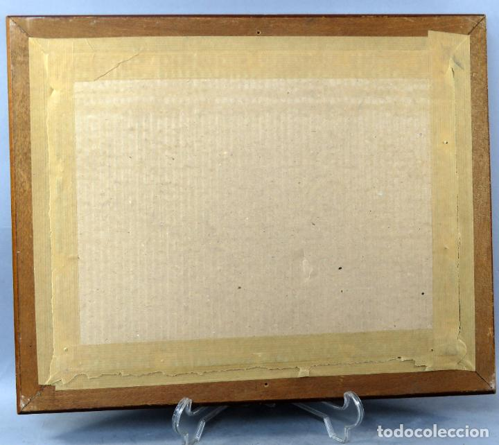 Arte: Tauromaquia toreando acuarela sobre papel Antonio Casero Sanz firmada años 50 - Foto 8 - 245547480