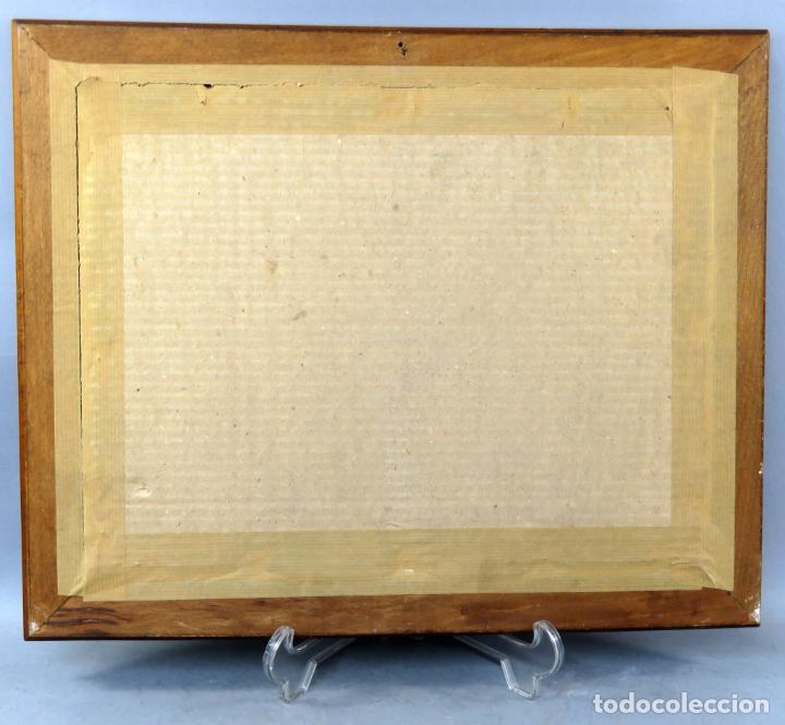 Arte: Tauromaquia toreando acuarela sobre papel Antonio Casero Sanz firmada y fechada en 1951 - Foto 7 - 245547870