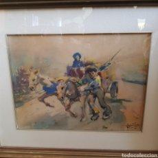 Arte: PRECIOSA ACUARELA DE JAVIER VARELA GUILLOT. Lote 246515255