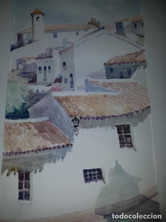 Arte: 3 ACUARELAS DE RECACHA - Foto 5 - 246756610