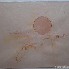 Arte: LUIS FEITO - ACUARELA SOBRE PAPEL - FIRMADA Y ENMARCADA. Lote 247332710