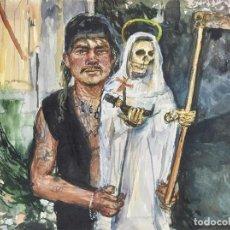 Arte: ENRIQUE MARTY ACUARELA ENMARCADA AMATEUR 2011 EXPUESTA. Lote 248779695