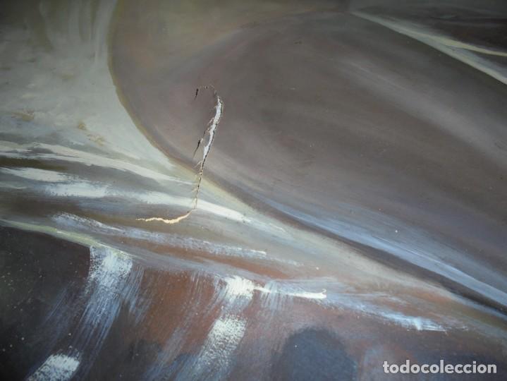 Arte: magnifica antigua gran acuarela sobre papel sobre 1920 - Foto 4 - 249013315
