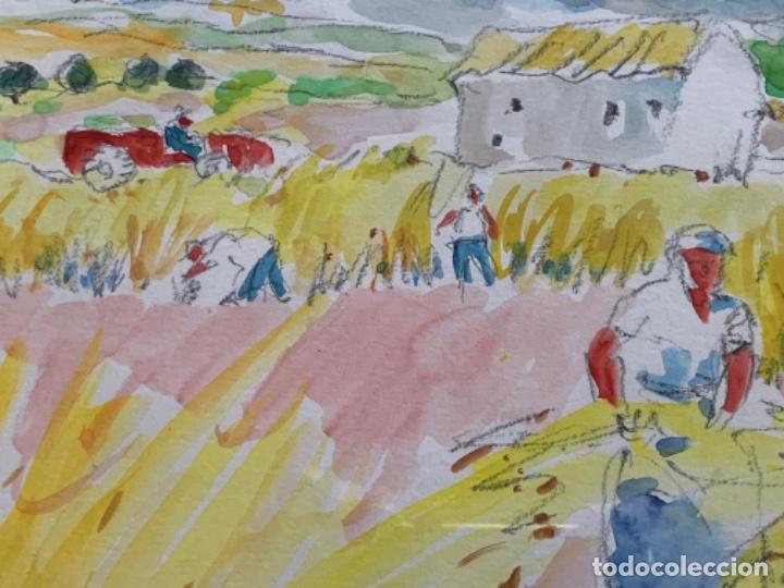 Arte: ACUARELA, RAMON SANVISENS 50x35 CM. - Foto 7 - 249196145