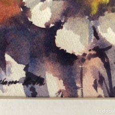 Arte: ACUARELA SORIANO BADIA 1969, APUNTES MEDIDA19,5X13 . PASPARTOUT 26,5X20. Lote 251993960