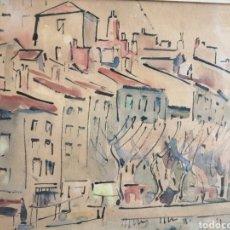 Arte: VANGUARDIA. ESCUELA DE PARÍS. FIRMADO ILEGIBLE.. Lote 252663075