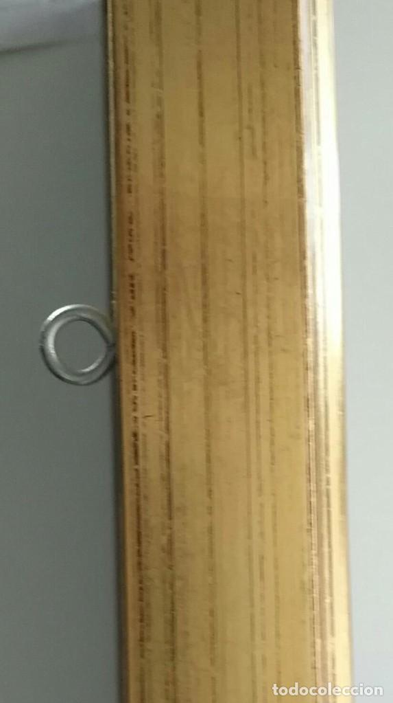 Arte: Cuadro La Primera Comunión de Ortega - enmarcado madera dorada y paspartú - Total 52cm x 39cm x 4cm - Foto 5 - 253180330