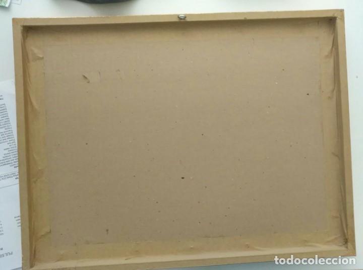 Arte: Cuadro La Primera Comunión de Ortega - enmarcado madera dorada y paspartú - Total 52cm x 39cm x 4cm - Foto 6 - 253180330