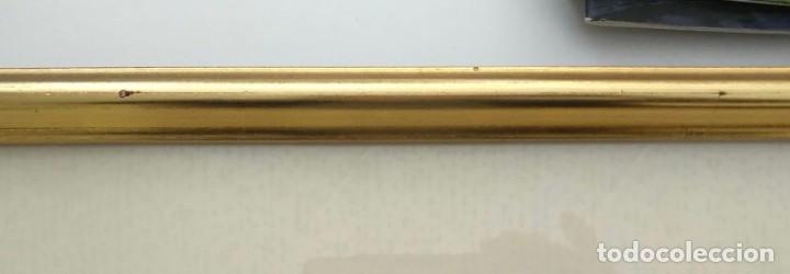Arte: Cuadro Concert de Trompeta (Concierto de trompeta) - Firmado - Total 52cm x 39cm x 4cm - Foto 8 - 253181490